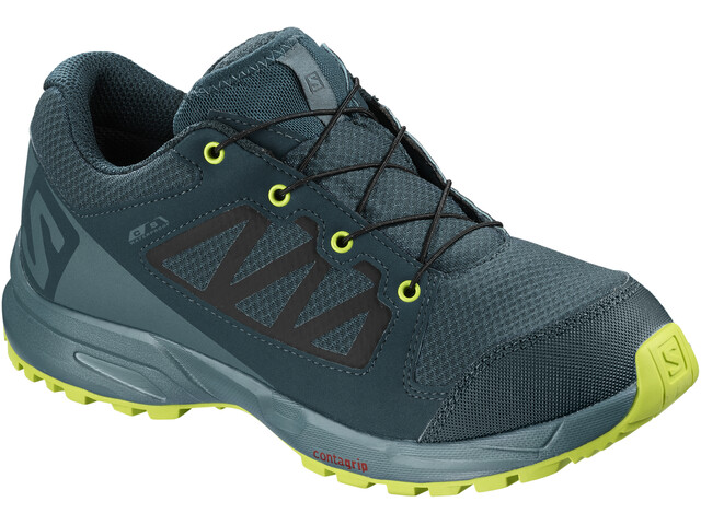 Salomon XA Elevate CSWP Shoes Kinder reflecting pond/hydro./acid lime